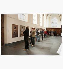 Photo exhibition in Grote Kerk, Naarden Poster