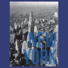 NEW YORK - Typography and cityscape by aditmawar