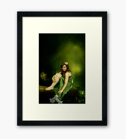 One touch of nature... Framed Print