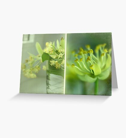 Spring in a vase Greeting Card