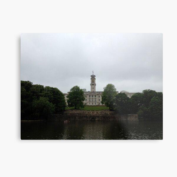 Nottingham University - Trent Building Metal Print