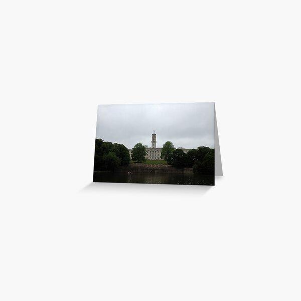 Nottingham University - Trent Building Greeting Card