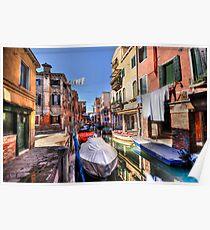 Venice washing #3 Poster