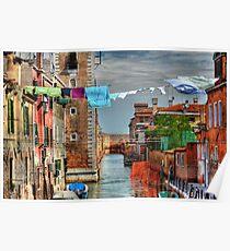 Venice washing #7 Poster