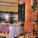 Venice washing #8 by Luke Griffin