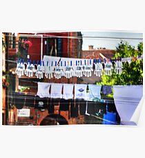 Venice washing #12 Poster