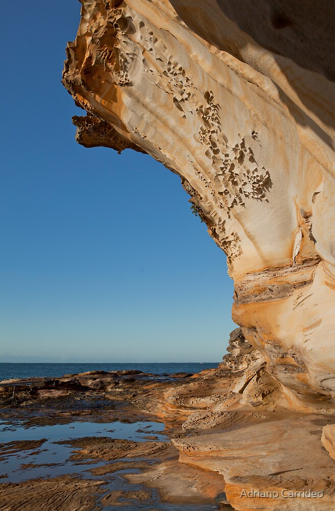 Sydney sandstone 03 by Adriano Carrideo