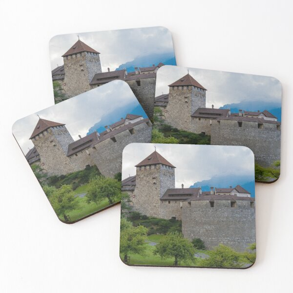 Vaduz Castle Coasters (Set of 4)