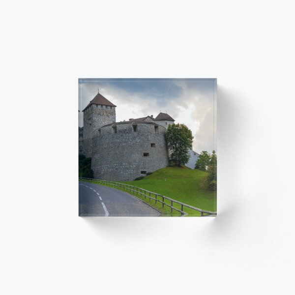 Vaduz Castle Acrylic Block