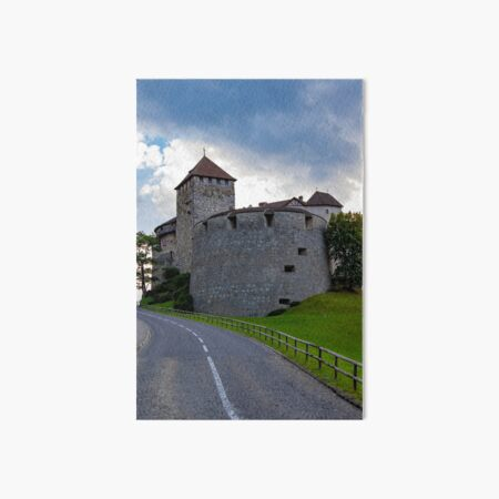 Vaduz Castle Art Board Print