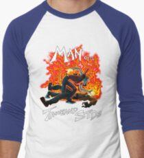 Man of a Thousand STDs Men's Baseball ¾ T-Shirt