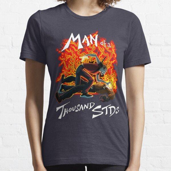 Man of a Thousand STDs Essential T-Shirt