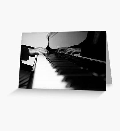 Piano ... Greeting Card