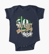 Mad About Green Bay One Piece - Short Sleeve