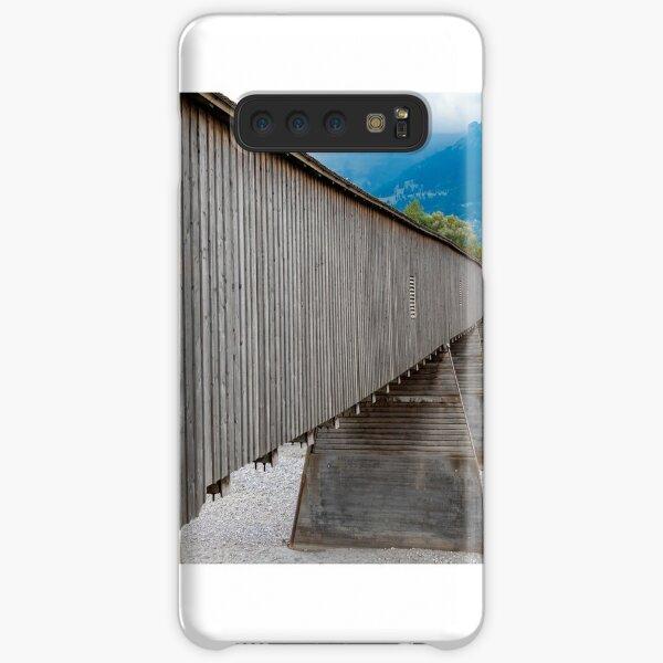 The Alte Rheinbrücke across the river Rhine  Samsung Galaxy Snap Case