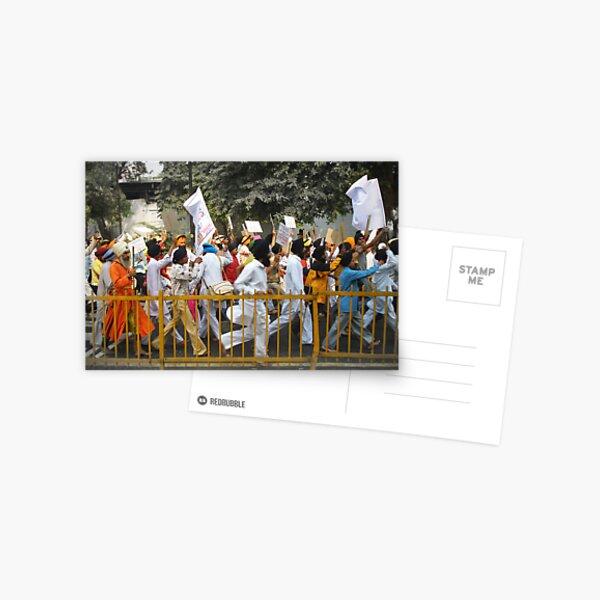 Sikh Protest 2007 Postcard
