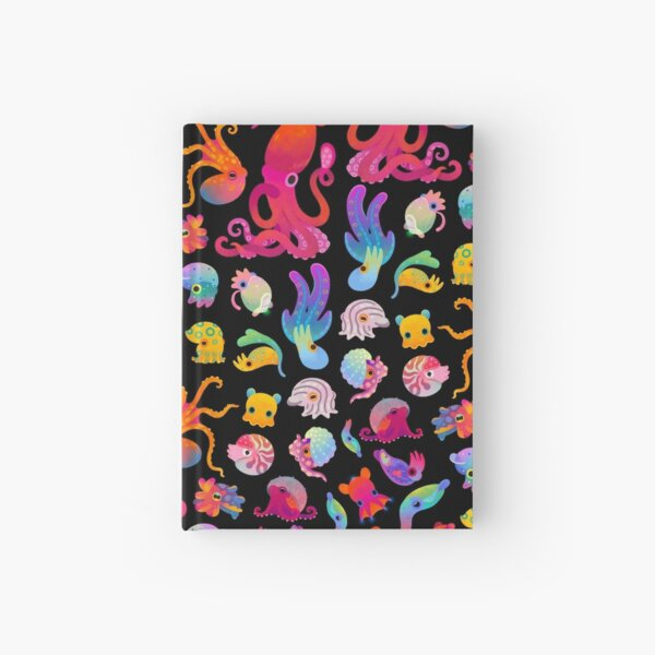 Cephalopod Hardcover Journal
