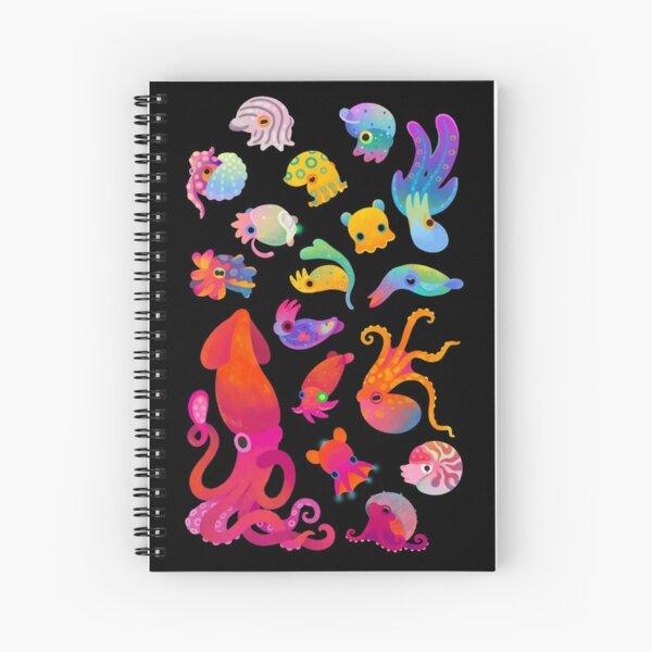 Cephalopod Spiral Notebook