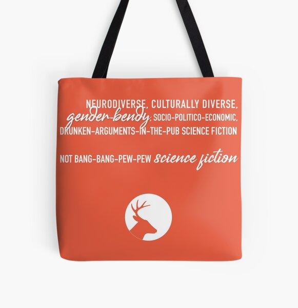 Not bang-bang All Over Print Tote Bag