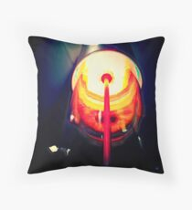 laser beams Throw Pillow