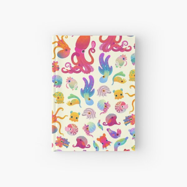 Cephalopod - pastel Hardcover Journal