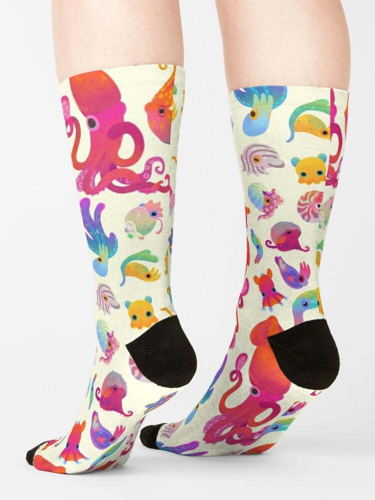 Alternate view of Cephalopod - pastel Socks