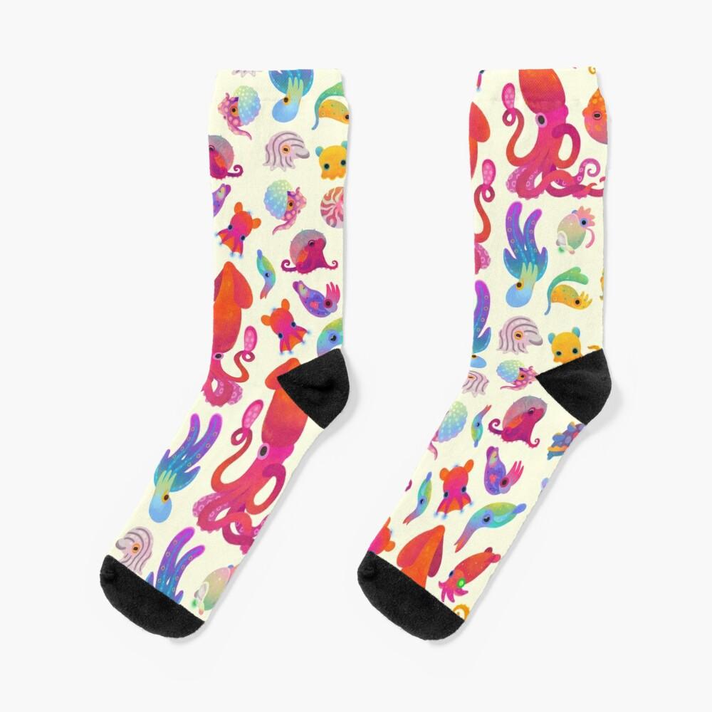 Cephalopod - pastel Socks