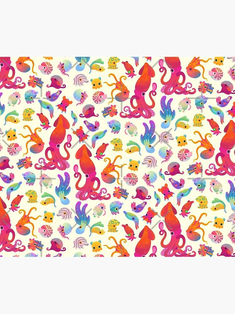 Cephalopod - pastel by pikaole