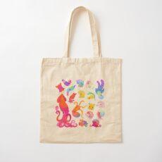 Cephalopod - pastel Cotton Tote Bag