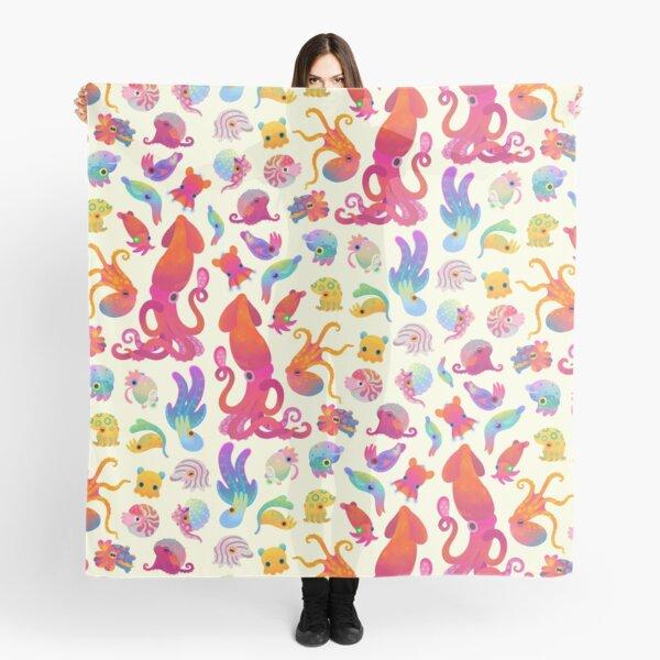 Cephalopod - pastel Scarf