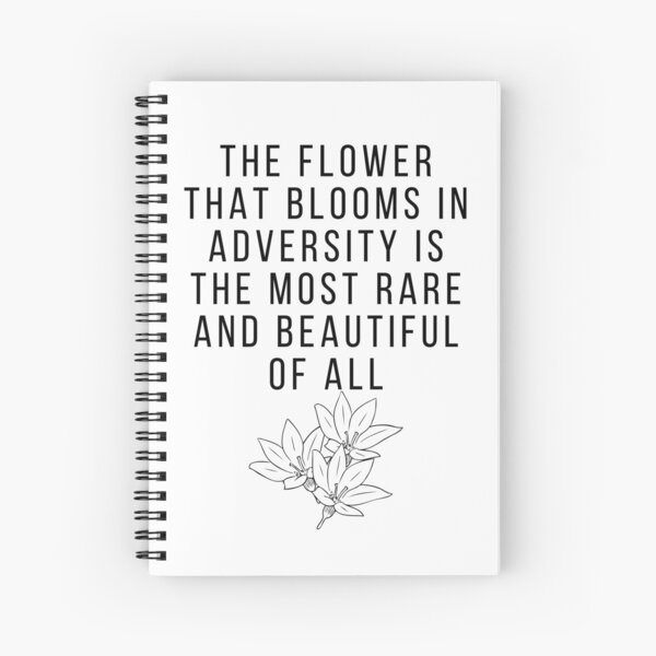 Mulan - The Flower That Blooms Spiral Notebook