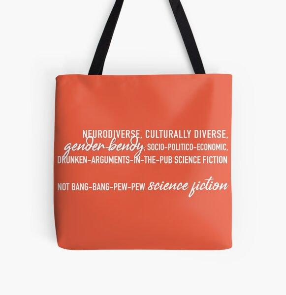 Not bang-bang (orange, no logo) All Over Print Tote Bag