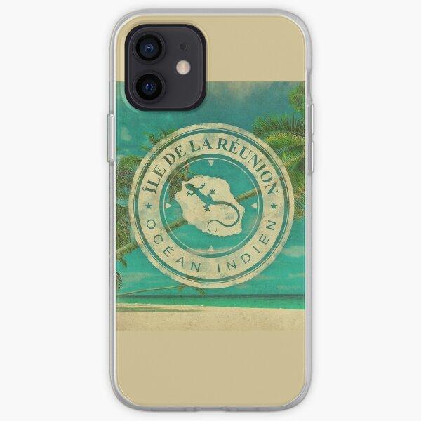 Ile de La Reunion - 974 Coque souple iPhone