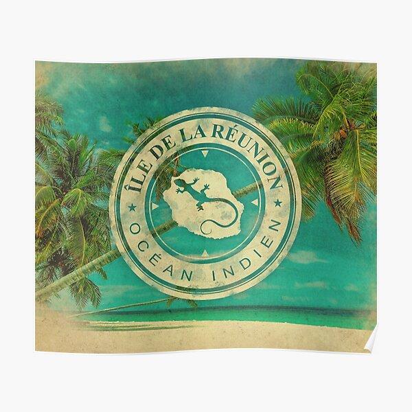 Ile de La Reunion - 974 Poster
