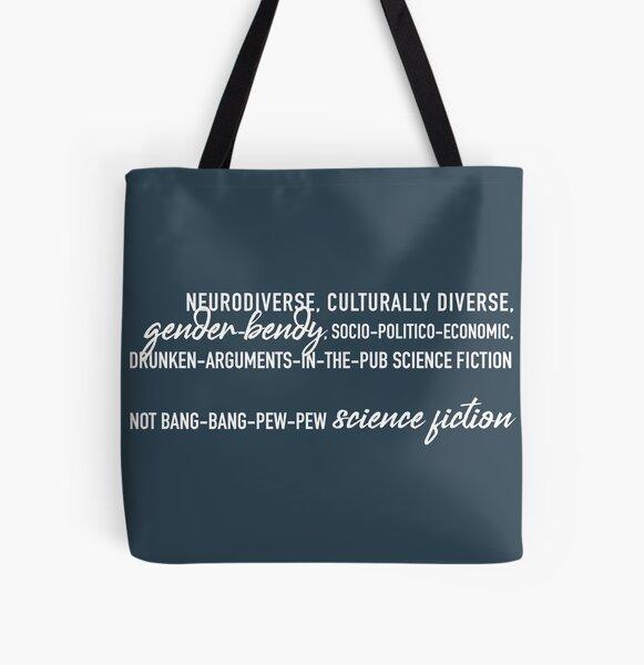 Not bang-bang (grey, no logo) All Over Print Tote Bag