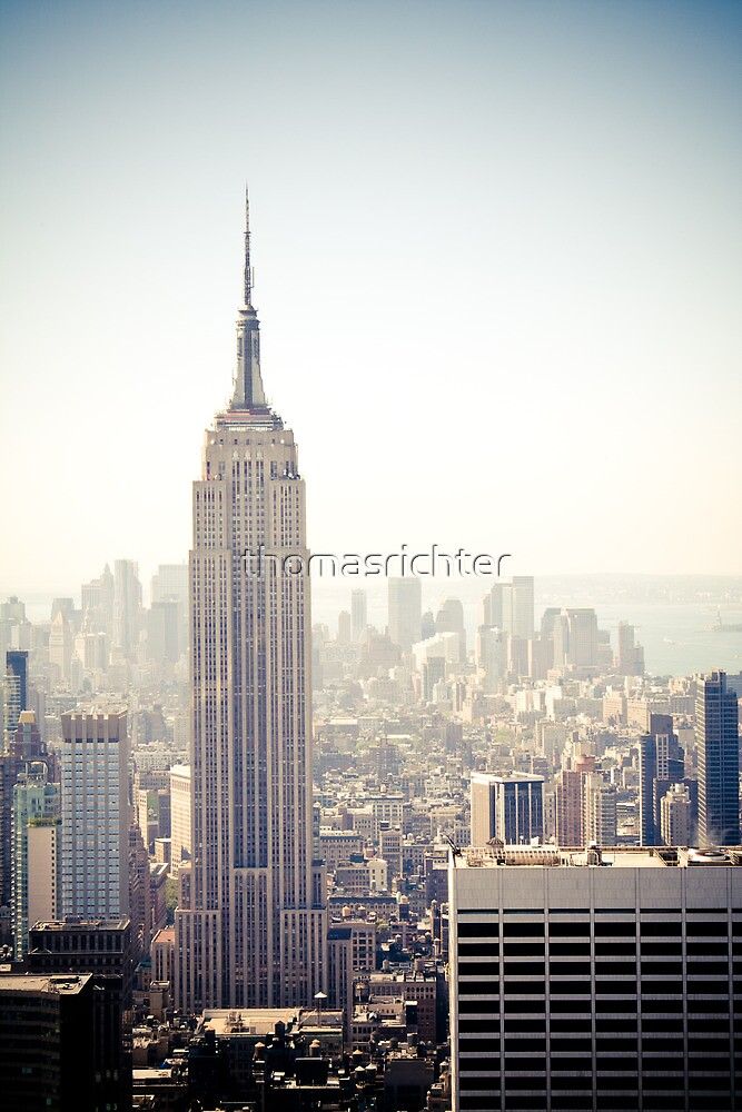 New York City, Empire State Building by thomasrichter