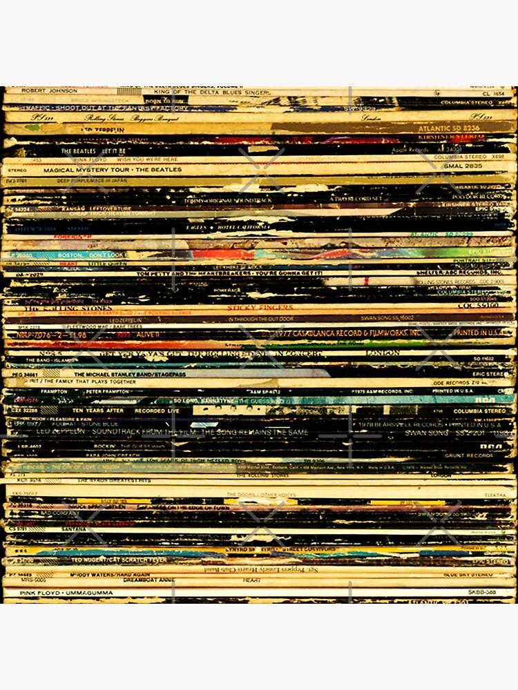 classic rock album cover art by RobertFranco