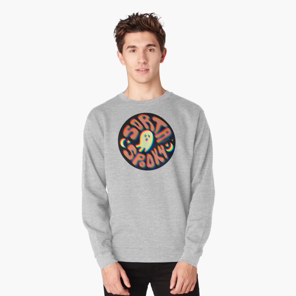 Sorta Spooky © 3D Pullover Sweatshirt