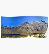 The Cullin Ridge, Isle of Skye Poster