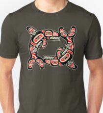 Alaskan Whale Unisex T-Shirt