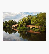 Brick bridge Photographic Print