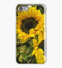 Sunflowers and waxflowers  iPhone Case/Skin
