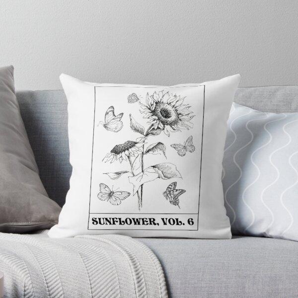 sunflower vol 6 Throw Pillow