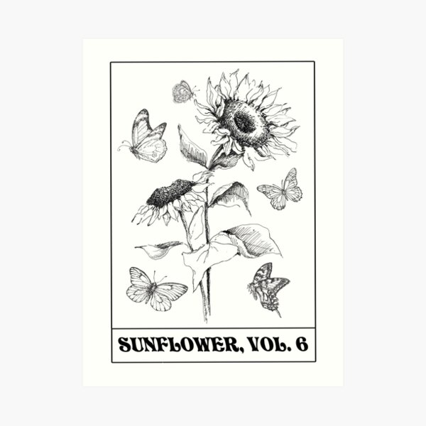sunflower vol 6 Art Print