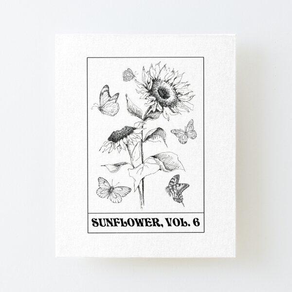 sunflower vol 6 Canvas Mounted Print