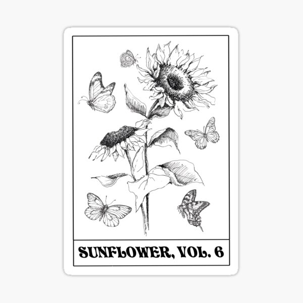 sunflower vol 6 Sticker