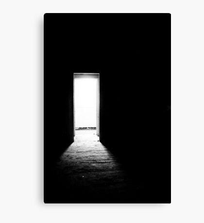 My door is always open Canvas Print
