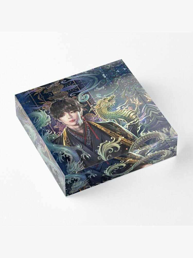 Alternate view of V-Dragons Acrylic Block