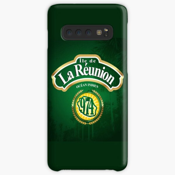 974 - Ile de la Reunion Coque rigide Samsung Galaxy