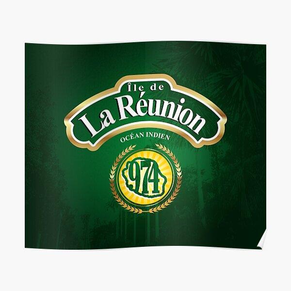 974 - Ile de la Reunion Poster